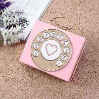 China Pvc Day Clutches Open Manufacturers Selling High-end Antique Telephone Banquet Dinner Bag Hand wholesale