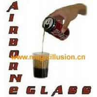 China AIRBORNE GLASS Pour Soda In Floating GlassHydrostatic Glass by Bazar de Magia magic tricks wholesale