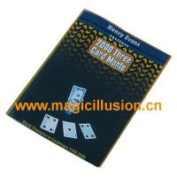 China Card Magic 3 card monte Magic Tricks Stage Props wholesale