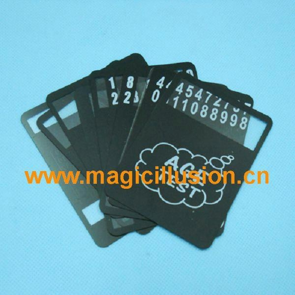 Quality Card Magic Age test magic toy for sale