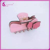 China More designs women's fashion hair accessories plastic hair clip claw on sale