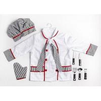 China LONG-SLEEVED CHEF WITH GLOVES AND HATS wholesale