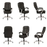 China Luxury heated brown executive office chair / reclining office chair / executive office chair wholesale