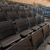 China Stunity lecture hall furniture factory price retractable seating wholesale