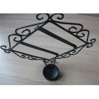 China Decorations Pretty wrought iron candle holder wholesale