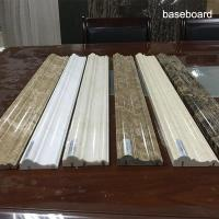 China Marble Natural Marble sinks Skirting Baseboard for Floor Decorative Molding skirt board wholesale