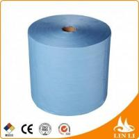 China Wood Pulp Polypropylene Fabric Nonwoven Fabric Industrial Wipes on sale