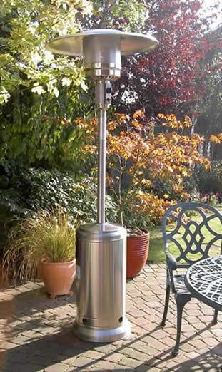 steel patio heater 17 4 ph stainless steel patio space heaters