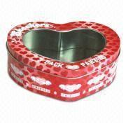 China Heart-shaped Canister wholesale